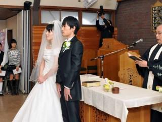 結婚式がありました